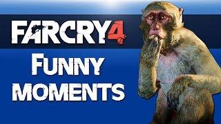 Far Cry 4 Map Editor Fun (Epic Battles & Flying Monkey)