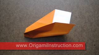 How To Fold Origami Stunt Plane - Origamiinstruction.com
