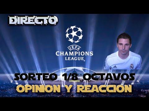 SORTEO OCTAVOS DE FINAL UEFA CHAMPIONS LEAGUE 2015-16 | OPINION By SergioLiveHD