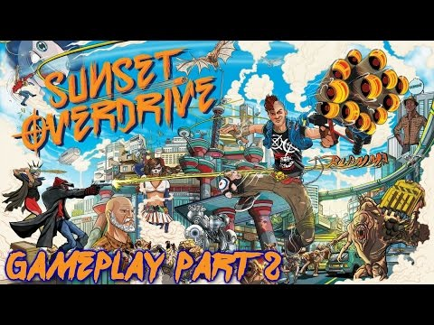 Sunset Overdrive Gameplay / Walkthrough Part 2 - XBOX ONE