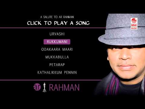 A R Rahman Tamil Hit Songs Jukebox - 2 video