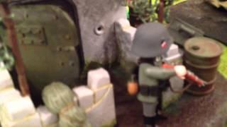 Playmo WW2 diorama : Normandie, juin 1944 (by Rochejaquelein) - Playmobeurs Heerde 2012