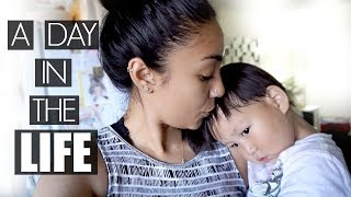 A REAL DAY IN THE LIFE OF A MOM OF 2! (SUMMER BREAK)  | Mel and Shane