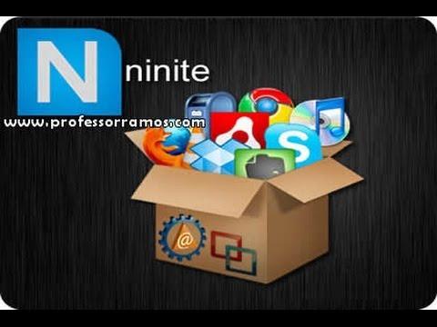 NINITE FREEWARE - Instalar Programas básicos de uma só vez Automaticamente - www.professorramos.com