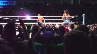 WWE Berlin 2012 Kofi Kingston & R-Truth VS. Primo & Epico (w/Rosa Mendes)