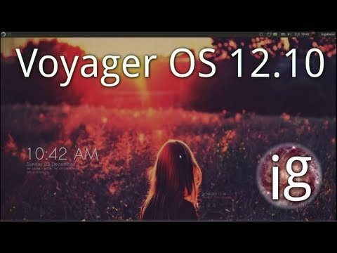 Voyager OS 12.10 Review - Linux Distro Reviews