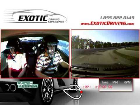 Exotic driving Experience in a Nissian GTR Walt Disney Speedway