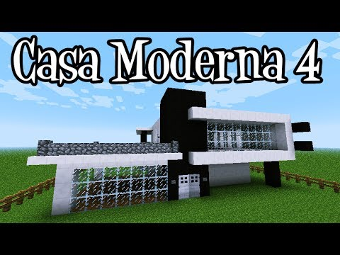 Tutoriais Minecraft: Como Construir a Casa Moderna 4
