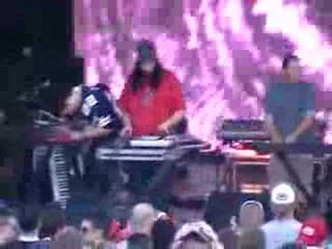 DJ Swamp live with The Crystal Method