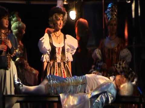 CAGLIOSTRO, operetta by Johann Strauss in Sverdlovsk Musical Comedy Theatre, Russia
