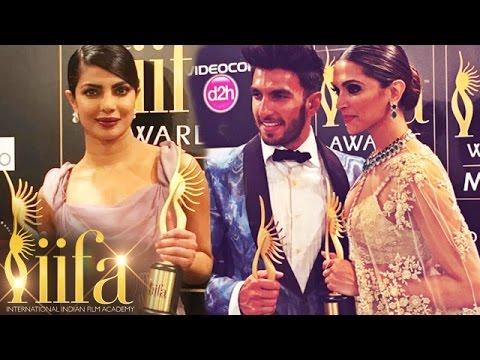 IIFA Awards 2016 WINNERS | Deepika Padukone, Salman Khan, Priyanka Chopra, Ranveer Singh