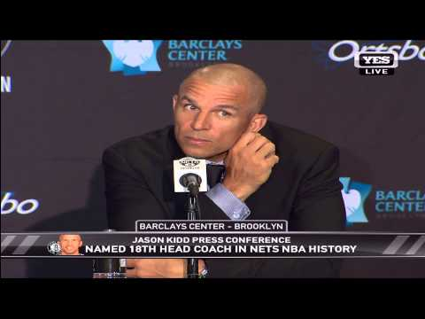 Jason Kidd Press Conference (Brooklyn Nets)
