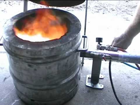 Waste oil Burner.wmv