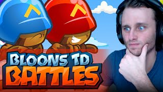 Bloons TD Battles   MAGE AND WOODCHIPPER!!