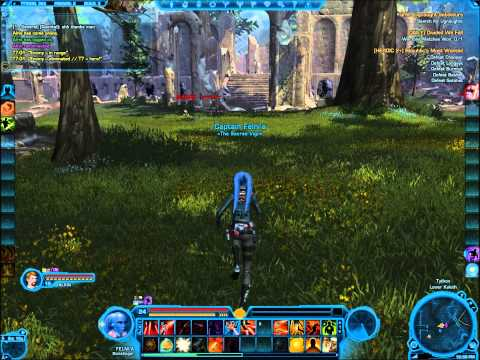 SWTOR Datacron Locations Tython Republic