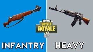 Infantry Rifle (Buffed) vs Heavy AR (Nerfed)