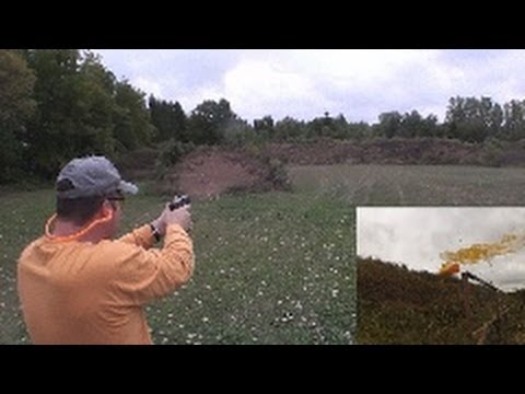 Glock 23 Gen4 100 Yard Accuracy -  2-Liter Soda bottles
