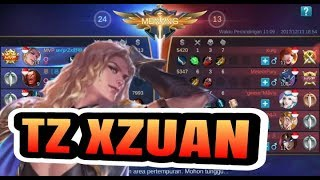 Fastest Gameplay! By TZ. ZXUAN + MVP squad Vs Idns Squad