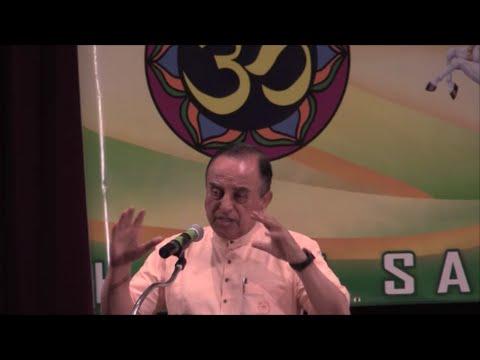 Dr. Subramanian Swamy Speech   2015 Hindu Unity Day, New York, USA