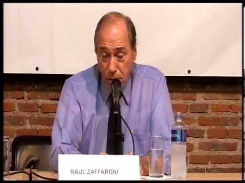 Raúl Zaffaroni - Charla UNQ (2013)