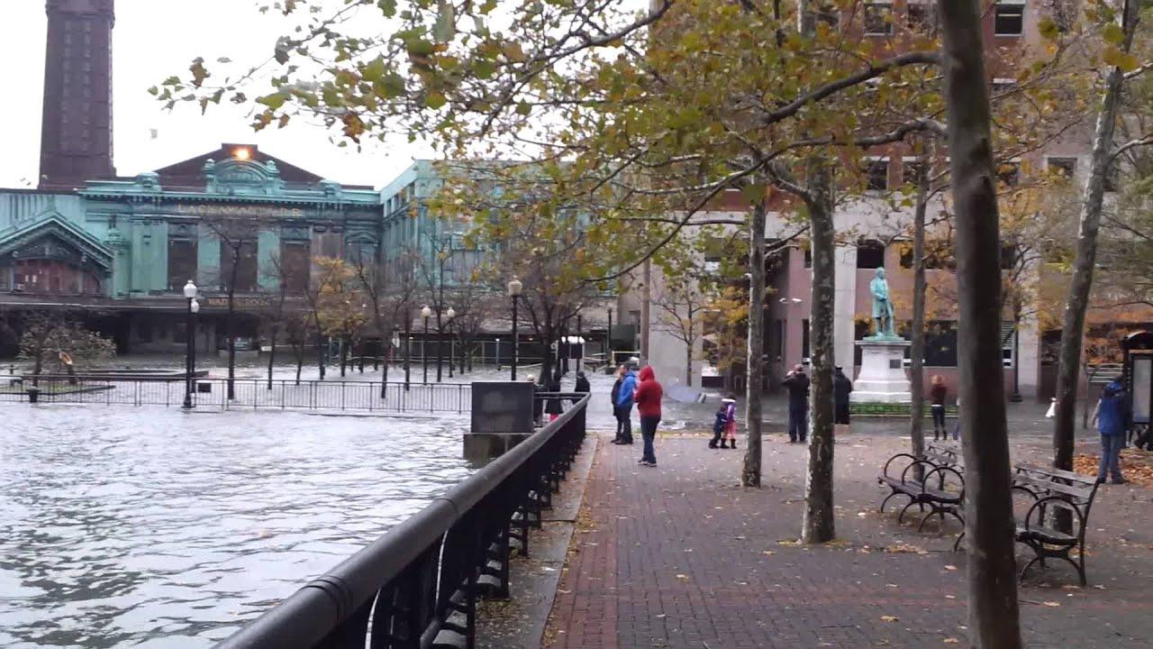 Hoboken Sandy Flooding Hoboken Hurricane Sandy