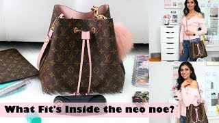 What Fits Inside The Louis Vuitton Neo Noe Should You Get It? Full Review | FABIOLAG