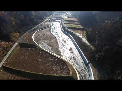 一級河川七川災害関連護岸工工事(動画)