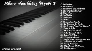 ♫ Nhạc không lời bất hủ ♥ The Best of Instrumental Love Songs