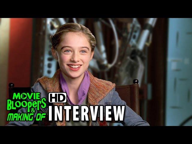 Tomorrowland (2015) Behind the Scenes Movie Interview - Raffey Cassidy (Athena)
