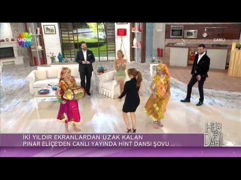 Pınar Eliçe Hint dansı şovu | Her Şey Dahil Canlı Performans