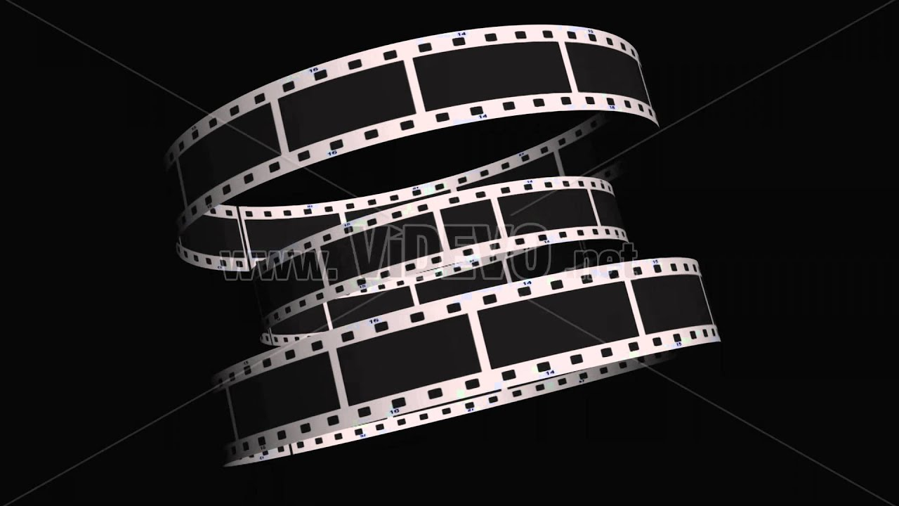 Video Film Roll Video Spinning Film Reel