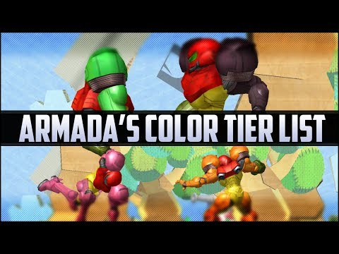 Armada's color tier list
