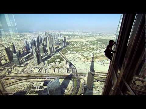 Hollywood Movie Shooting In Burj Dubai For Mission Impossible 4 video