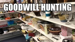 Goodwill Shopping for Ebay Resale - House Update Kitchen Painting Cabinets - Fan Mail!