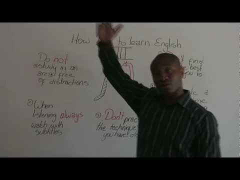 How NOT to Learn English – Studying English at Home