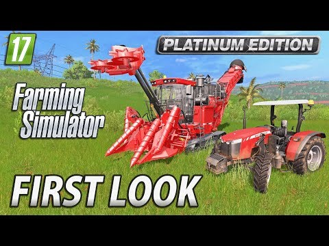 Farming Simulator 2017 Platinum Edition | First Look Gameplay