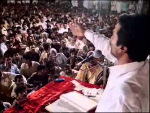 Zakir Qazi Waseem Abbas  Jashan 3 Shaban 2013  Qasida   Janab-e-syeda   video
