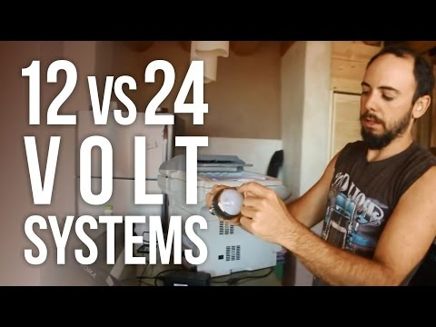 The Pros and Cons of 12 vs 24 Volt Systems