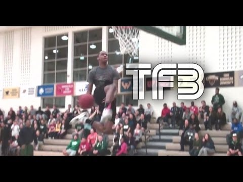 Jamil Dudley (Lake Erie College) is one of the Sickest one foot leapers in the country, Not only is he nice on the court he's also a 7x All-American and 2x National Champion in the High Jump......