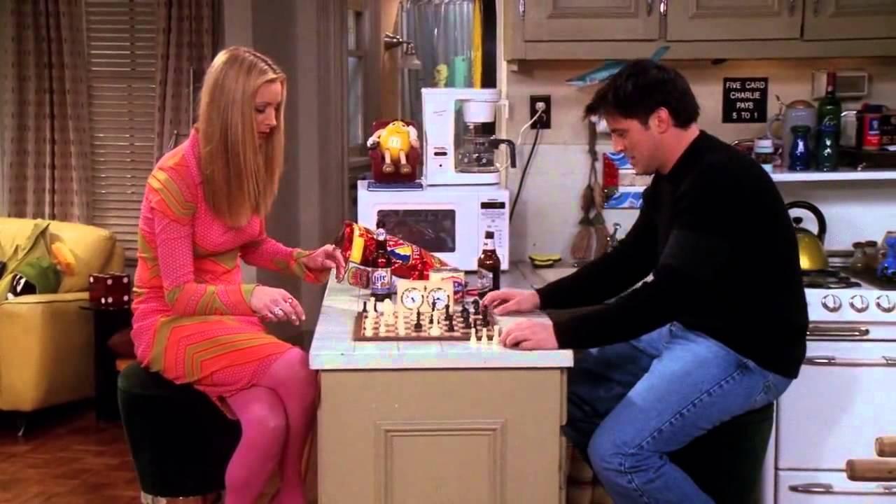 Wire Chess Scene Friends Chess Scene