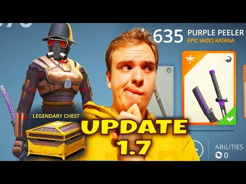 Shadow Fight 3 Update 1.7 Review. LEGENDARY CHEST. CHAPTER 3. NEW STORE. I Got A VERY WEIRD WEAPON!