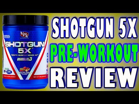 Shotgun 5X by VPX Review Pre Workout