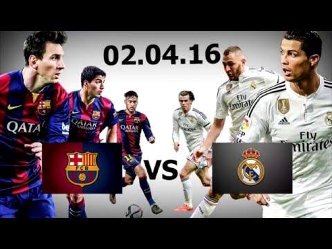 Прогноз матча Реал Мадрид - Барселона 02.04.16