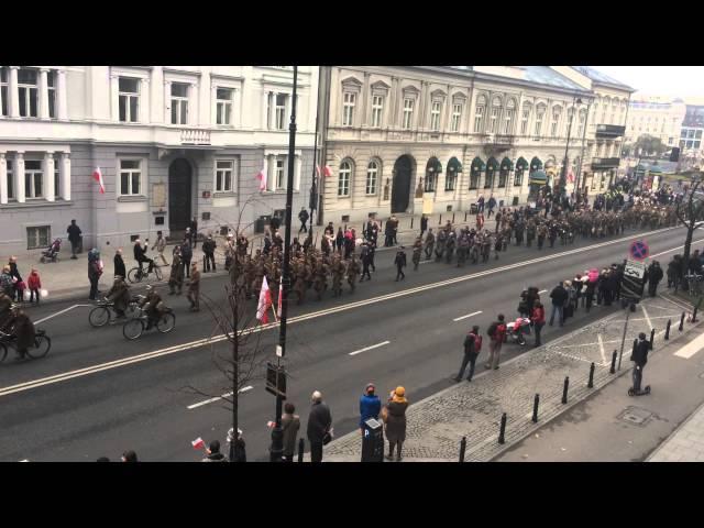 Parata per la Festa dell'Indipendenza a Varsavia - parte 1