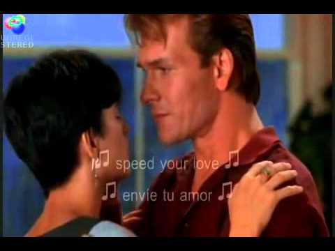 Ghost La sombra del Amor .. Unchained Melody ... (espaol subtitulo)
