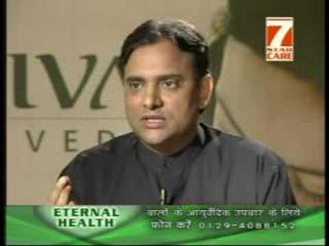 Tips and Herbal Solution to Hair Loss Problems on Jiva Ayurveda TV Shows