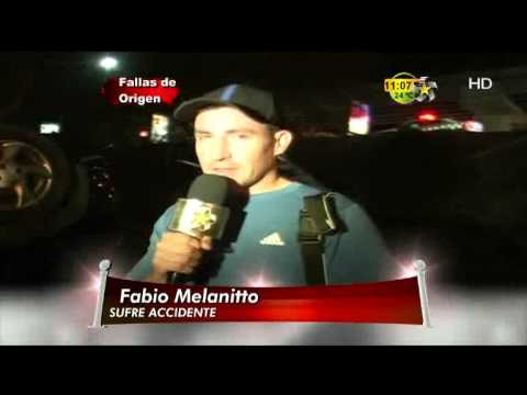 Lamentable Accidente de Fabio Melanitto