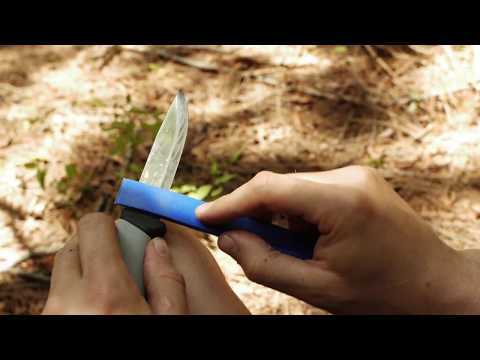 Bens Backwoods - Mora knife field sharpening scandinavian bevel