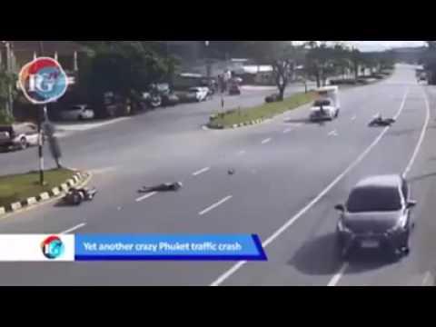 APES 2X    PERTAMA 'KECELAKAAN' MOTOR & SETELAH BERDIRI LANGSUNG DISAMBUT MOBIL