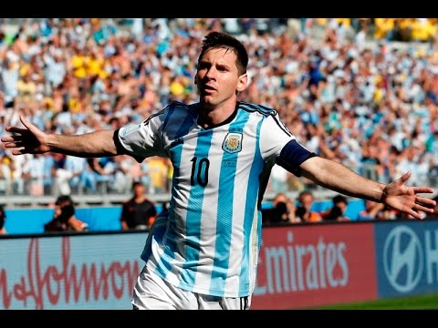 Lionel Messi Worst Goal Ever!!! World Cup 2014